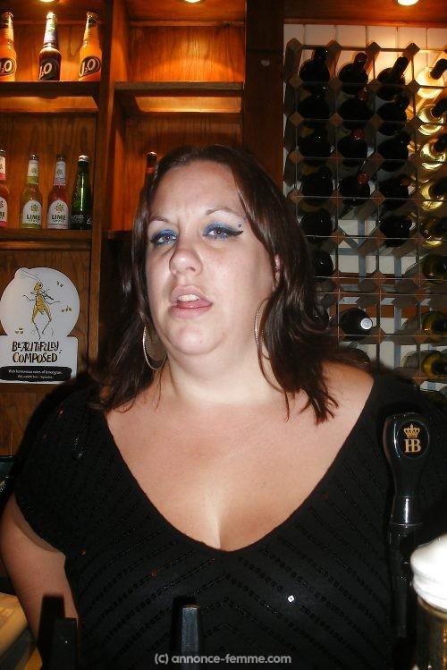 Christelle femme ronde de 36 ans