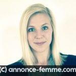 Jeune femme blonde cherche homme avec mêmes valeurs
